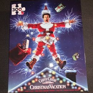 Chevy Chase National Lampoon's Christmas Puzzle